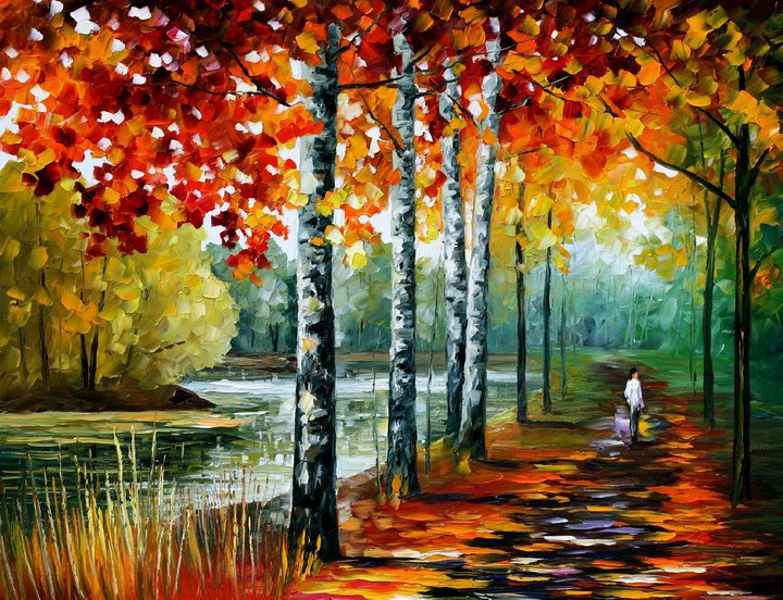 colorful painting best beautiful leonid afremov vivid colored oil acrylic water color